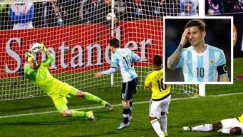 """Messi y la atajada imposible de Ospina por la que se quería """"morir"""""""