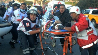 12 muertos y 9 heridos al chocar furgoneta y camión