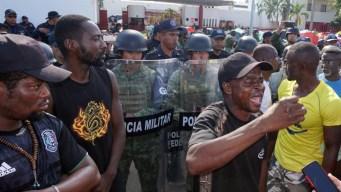 Crece exigencia de migrantes africanos por libre tránsito