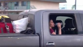 """""""Se fueron con lo mínimo"""": familia huye de México"""