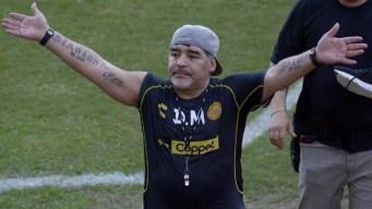 Maradona se va de los Dorados de Sinaloa