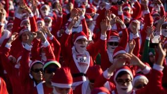 """Santa Claus se """"multiplica"""" para apoyar"""