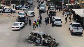 Violento choque armado deja al menos 2 muertos