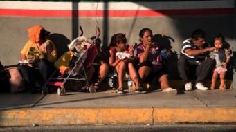 El duro viaje de la caravana migrante por el sureste