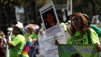 Madres de 40,000 desaparecidos, sin nada que celebrar