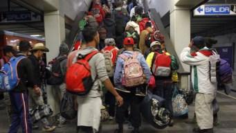 Se agota la paciencia: migrantes enfilan hacia EEUU