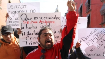 Piden libertad de defensor de migrantes acusado de trata