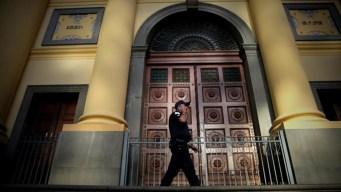 Misa mortal: pistolero abre fuego en una catedral