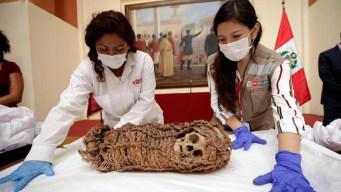EEUU devuelve a Perú momia de niño de 2,000 años