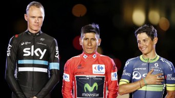 Nairo Quintana gana vuelta de España