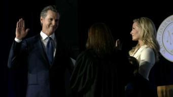 Gavin Newsom juramentado como Gobernador de CA