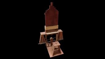 """Hacen sonar el """"gran órgano continuo"""" de Da Vinci"""