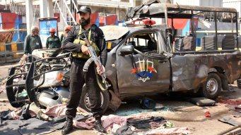 Bombazo terrorista deja baño de sangre