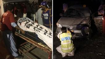 Bombazo deja estela de muerte en plena fiesta religiosa