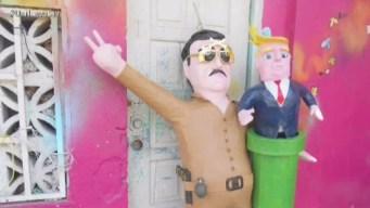 """""""El Chapo"""" inspira nuevas piñatas en México"""