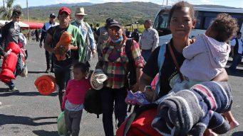 Grueso de la caravana migrante cumple un mes viajando