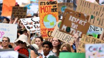 Protestas en todo el mundo por el cambio climático