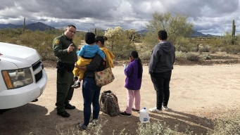 El pueblo donde los indocumentados cruzan a EEUU