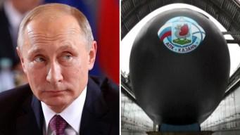 Putin muestra sus poderosos submarinos nucleares