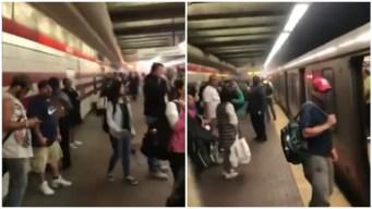 Reportan problema mecánico en línea roja de la MBTA