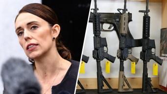 Tras ataque, Nueva Zelanda prohíbe los rifles de asalto