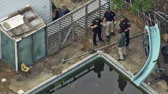 Niñas de 2 y 3 años caen a piscina en Rockland