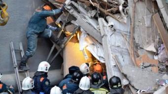 Tragedia en Rusia: 38 muertos por derrumbe de edificio