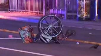 Atropella a una anciana en silla de ruedas y huye