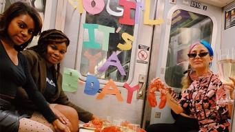 Viral: la sorprenden con una fiesta de cumpleaños ¿en el subway?