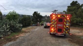 Reportan evacuaciones tras fuga de gas en El Cajón