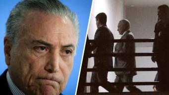 Temer, segundo expresidente brasileño en ir a la cárcel