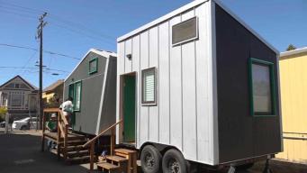 Lo tienen todo: casas miniaturas para estudiantes sin hogar