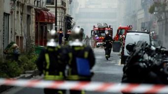 Hallan cadáver sepultado bajo escombros en París