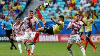Paraguay espera un milagro tras victoria de Colombia 1-0