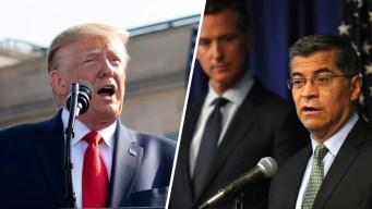 Emisiones de combustible: 23 estados demandan a Trump