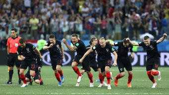 Croacia deja afuera a Dinamarca en los penales