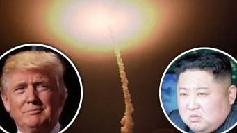Video: Trump le responde a Kim y prueba misil intercontinental