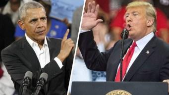Trump y Obama en último esfuerzo para impulsar el voto