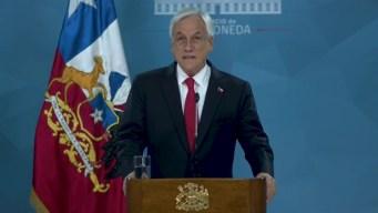 Piñera anuncia medidas para mitigar las protestas en Chile