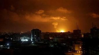 En video: Israel lanza lluvia de misiles sobre Gaza