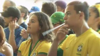 Alegría inunda corazones de hinchas brasileños
