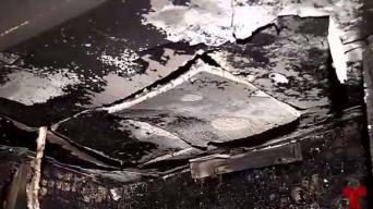Bomberos tardaron dos horas en llegar a casa que se quemaba