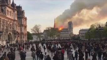 Cardenal de Boston reacciona a incendio de catedral Notre Dame