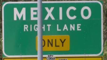 Cierres en la autopista 5 en San Ysidro