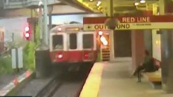 En video: momento en que se descarrila tren de MBTA