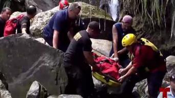 Encuentran muerto a joven arrastrado por corriente en la Soplaera