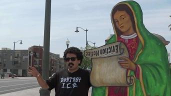 """La Virgen de Guadalupe está siendo """"desplazada"""""""
