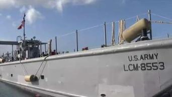 Lancha de Guardia Nacional llega con suministros a Vieques