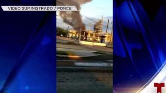 Investigan fuego en subestación de la AEE en Ponce