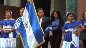 Izan bandera de El Salvador ante plazo del TPS